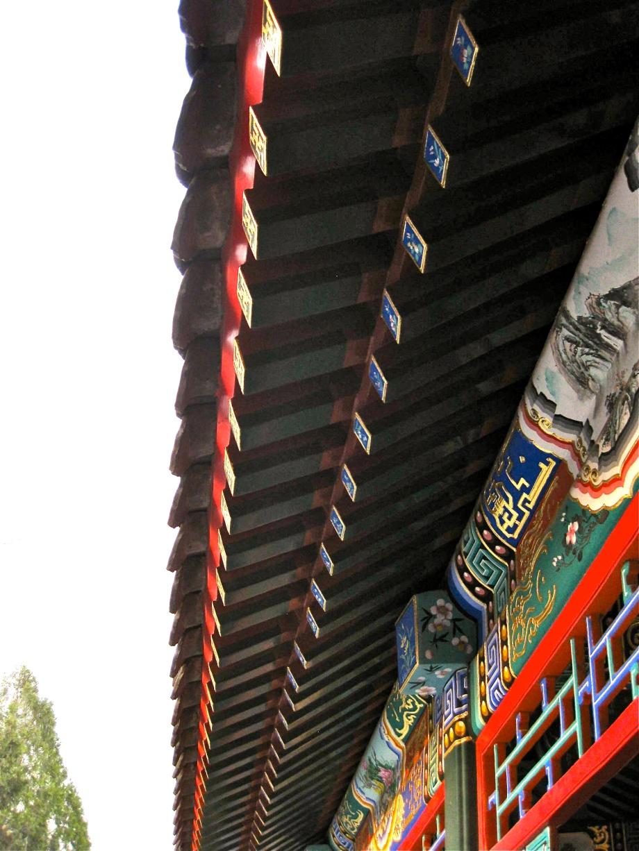 Beihai Architecture closeup