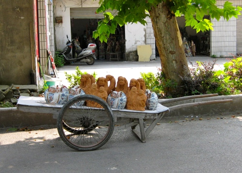 Statue Cart