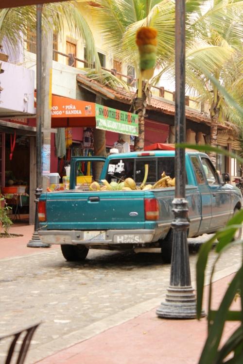 Coconut truck!