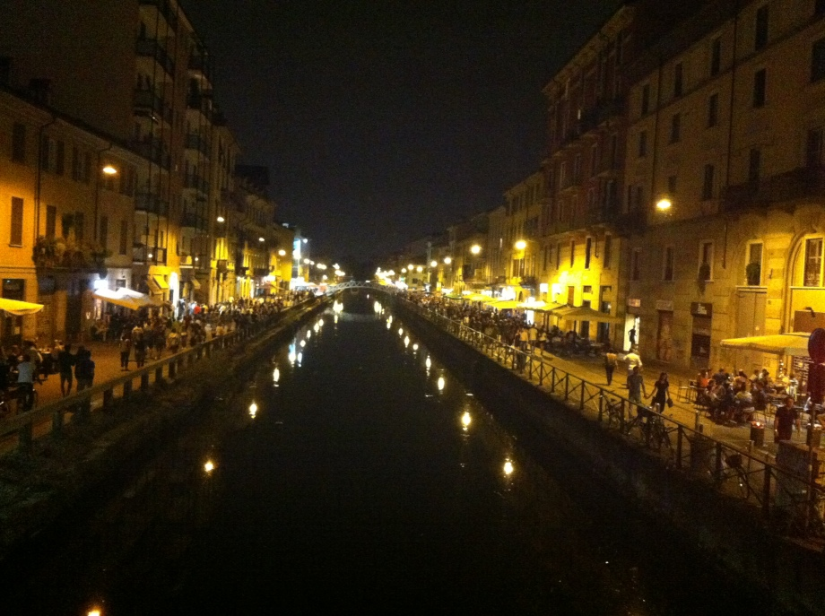 Navigli at night